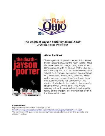 The Death of Jayson Porter Toolkit - WebJunction