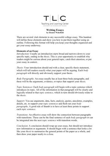 literary essay introduction example