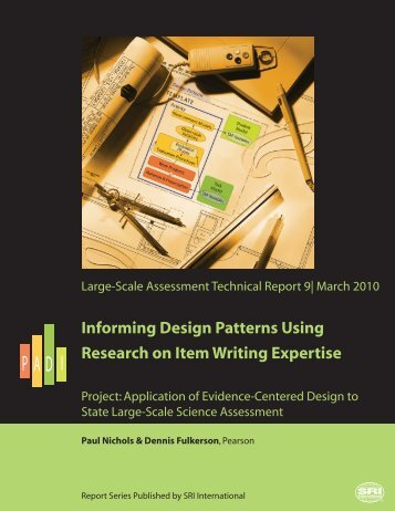 Informing Design Patterns Using Research on Item Writing Expertise