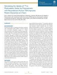 Stimulating the Uptake of 131I in Multinodular Goiter by ...