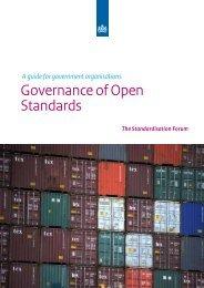 Governance of Open Standards - Logius