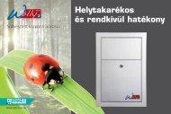 Helytakarékos és rendkívül hatékony - Sistem Air