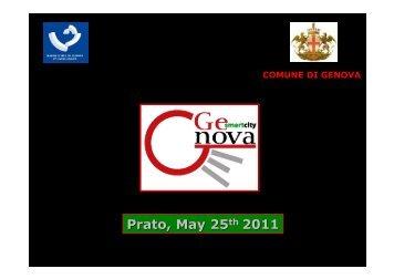 Gloria Piaggio's presentation - Comune di Prato