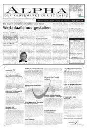 Wertedualismus gestalten - Tagesanzeiger e-paper - Tages-Anzeiger