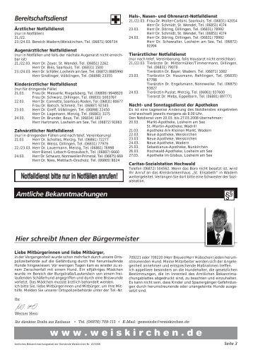 KW 12-2008 - Weiskirchen