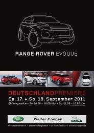 Range Rover Evoque - Walter Coenen Gruppe