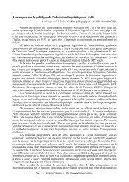 Remarques sur la politique de l'éducation ... - Adrianocolombo.it