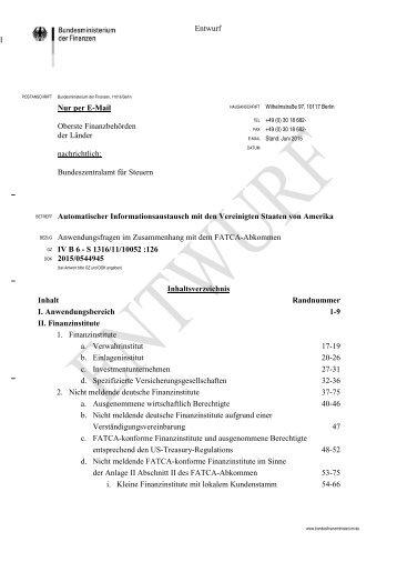 2015-06-26-Automatischer-Informationsaustausch-mit-USA-Anwendungsfragen-FATCA-Abkommen