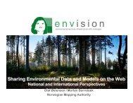 Sharing Environmental Data and Models on the Web - ENVISION ...
