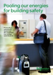 Pooling our energies for building safety - Schneider Electric