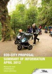 Eco-City Proposal - Summary - April 2012 - Wellington City Council