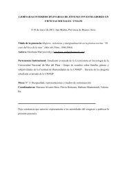 ponencia - Instituto de Altos Estudios Sociales