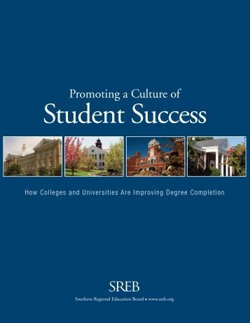 Promoting a Culture of Student Success - Southern Regional ...