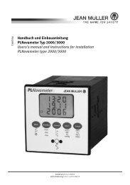 PLNovameter Typ 2000/3000 - Jean Müller