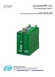 CD3000M-1PH Thyristor Unit - CasCade Automation Systems BV