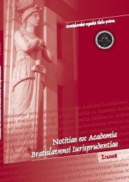1/2008 - Paneurópska vysoká škola