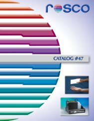 Rosco Catalog 47 - stagecraft fundamentals
