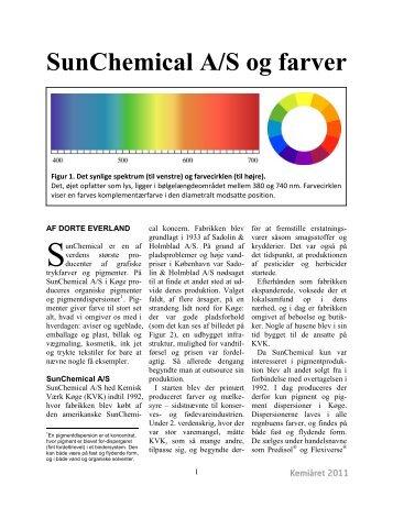 SunChemical A/S og farver
