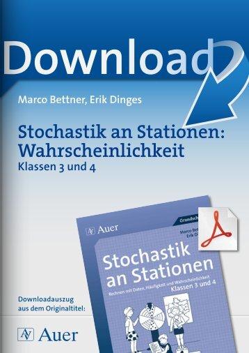 Stochastik an Stationen: Wahrscheinlichkeit