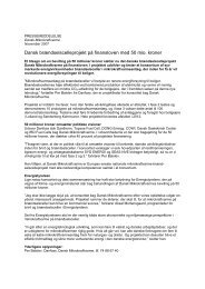 Pressemeddelelse - Dansk Gasteknisk Center
