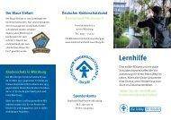 Faltblatt zur Lernhilfe - Deutscher Kinderschutzbund Kreisverband ...