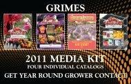 GRIMES 2011 MEDIA KIT - Grimes Horticulture