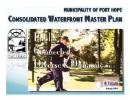 Consolidated Waterfront Master Plan - Port Hope