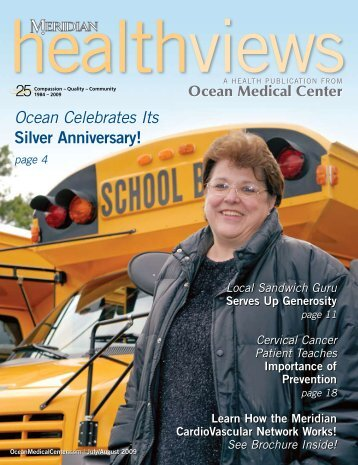 Download the July/August 2009 issue - Ocean Medical Center
