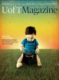 Unlocking Our Potential - University of Toronto Magazine