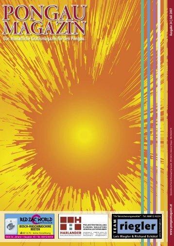 15. August 2007 22. Juli - 15. August 2007 MI ... - Aktuelle Ausgabe