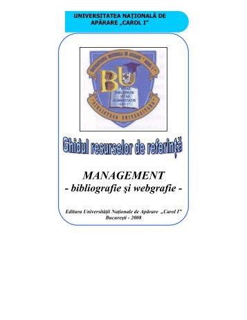 catalog adrese web - biblioteca universitara - Universitatea ...