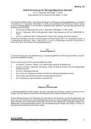 Zweite Verordnung zum Sprengstoffgesetz (2. SprengV)