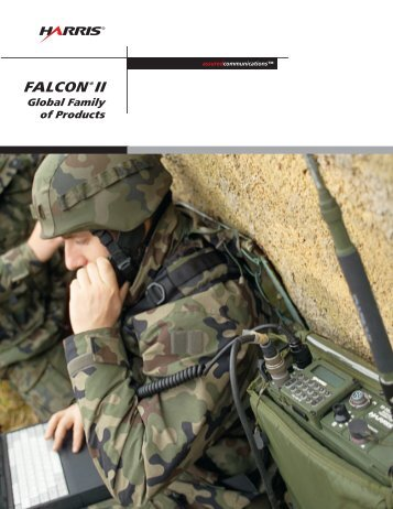 FALCON II Global Family of Products Brochure