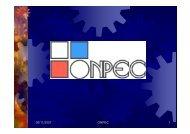 05/11/2007 ONPEC 1