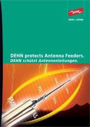 DEHN protects Antenna Feeders.