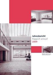 Download Jahresbericht 2009 - Berner Heimatschutz