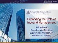 Supply Chain Integration - Summit