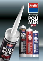 KS POLYMER hybrid sealants & adhesives - Krafft