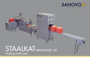 STAALKATFARMPACKER 100 Packing made easy - sanovo ...