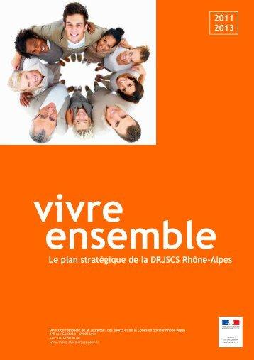 plan stratégique DRJSCS Rhône-Alpes - Accueil du site