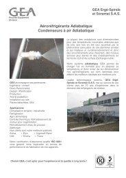 Aéroréfrigérants avec refroidissement adiabatique - GEA Happel ...