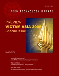 PREVIEW VICTAM ASIA 2006 Special Issue - AquaFeed.com