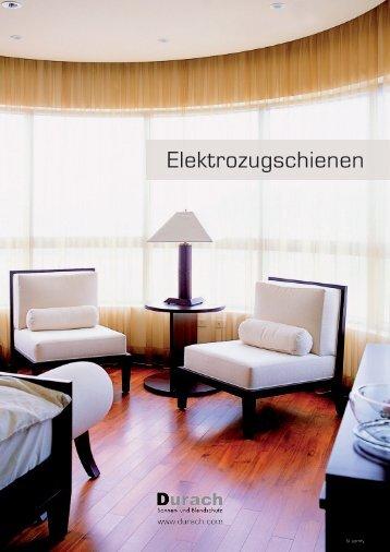 Elektrozugschienen - Durach GmbH