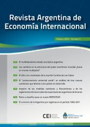 El multilateralismo desde una óptica argentina Los cambios en la ...