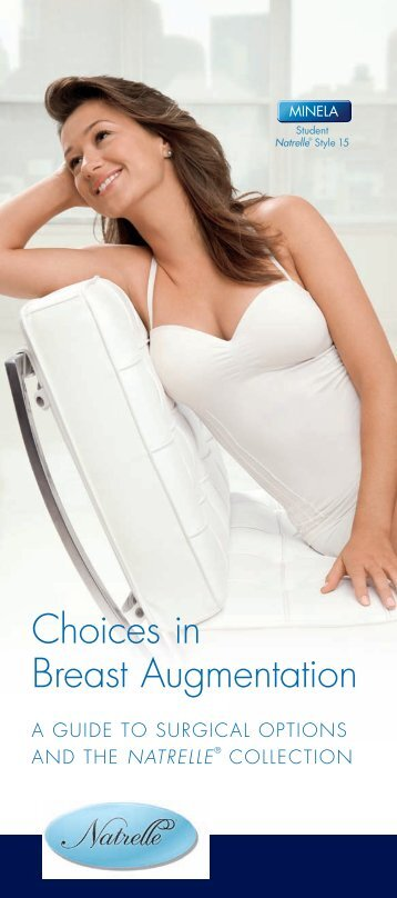 Choices in Breast Augmentation