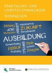 (Lehrstellenmagazin für Pdf Internet07) - Gemeinde Wennigsen