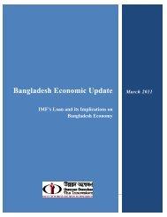 Bangladesh economic update march 2011 - Unnayan Onneshan