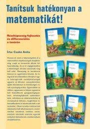 Tanítsuk hatékonyan a matematikát! - Műszaki Könyvkiadó