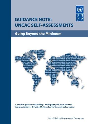 UNCAC Self-Assessments, Going Beyond the Minimum - U4 Anti ...