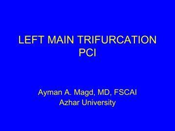 LEFT MAIN TRIFURCATION PCI